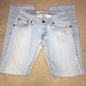 Levi's Low Slouch Straight Jeans